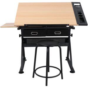 最佳起草表选项:Zeny高度可调牵引式桌子绘图