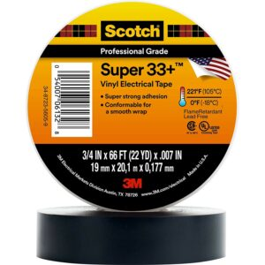 The Best Electrical Tape Option: Scotch(R) Super 33(TM) Vinyl Electrical Tape