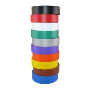The Best Electrical Tape Option: TradeGear Electrical Tape Assorted Matte Rainbow