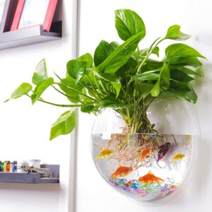 The Best Fish Tanks Option: Outgeek Wall Fish Bubble