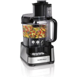 The Best Food Processor Option: Hamilton Beach 12-Cup Stack & Snap Food Processor