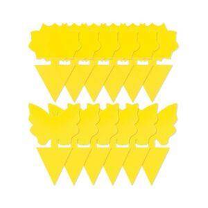 最好的水果蝇陷阱选项:尖顶12包粘性果蝇陷阱