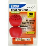 The Best Fruit Fly Traps Option: TERRO T2502 Fruit Fly Trap – 2 traps