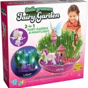 The Best Garden Sets for Kids Option: Little Growers Fairy Garden Craft Kit