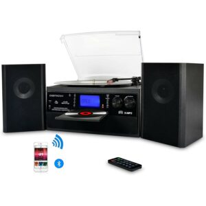 The Best Home Stereo System Option: DIGITNOW Bluetooth Record Player Turntable