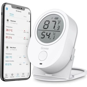 The Best Indoor Thermometer Option: Govee Temperature Humidity Monitor