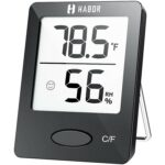 The Best Indoor Thermometer Option: Habor Hygrometer Indoor Thermometer