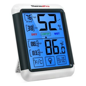 The Best Indoor Thermometer Option: ThermoPro Digital Hydrometer Indoor Thermometer