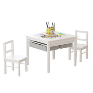The Best Kids Tables Option: UTEX 2-in-1 Kids Multi Activity Table