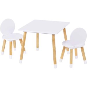 The Best Kids Tables Option: UTEX Kids Table with 2 Chairs Set