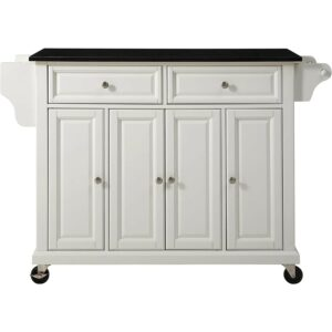 The Best Kitchen Cart Option: Crosley Furniture Full Size Kitchen Cart