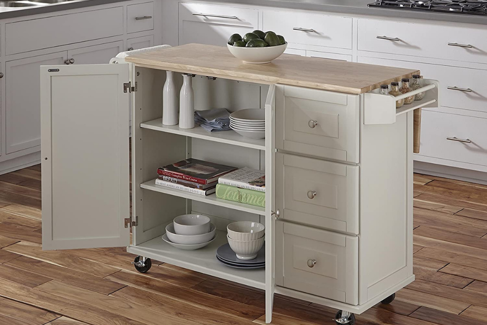 The Best Kitchen Cart Options For Storage In 2021 Bob Vila