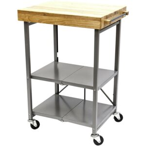 The Best Kitchen Option: Cart_Origami Folding Kitchen Cart