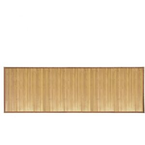 The Best Kitchen Rugs Option: iDesign Formbu Bamboo Water-Resistant Runner Rug