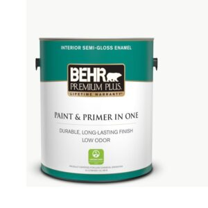 The Best Low VOC Paint Option: Behr Premium Plus Ultra Pure White Interior Paint