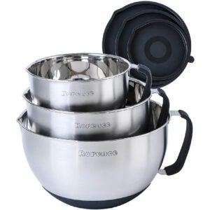 最好的混合碗选项:响起搅拌碗,浇注喷口,手柄和盖子