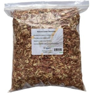 The Best Mulch Option: Four Winds Trading Natural Cedar Shavings