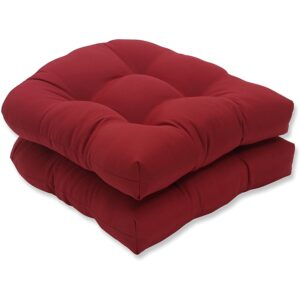 The Best Outdoor Cushions Option: Pillow Perfect Outdoor_Indoor Tufted Seat Cushions