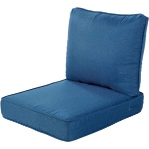 The Best Outdoor Cushions Option: Quality Outdoor Living Deep Seating Chair Cushion