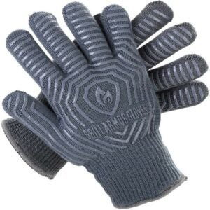 The Best Oven Mitts Option: Grill Armor Extreme Heat Resistant Oven Gloves