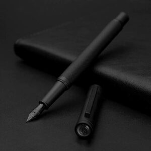 The Best Pens Option: Asvine Matte Black Forest Fountain Pen