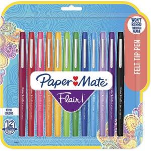The Best Pens Option: Paper Mate Flair Felt Tip Pens