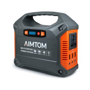 The Best Portable Power Station Option: AIMTOM 42000mAh 155Wh Power Station