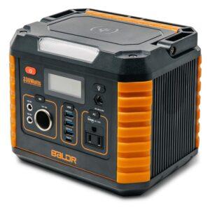 The Best Portable Power Station Option: BALDR Portable Power Station 330W