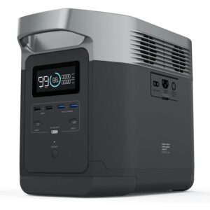 The Best Portable Power Station Option: ECOFLOW Portable Power Station EFDELTA, UPS Power