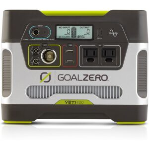 The Best Portable Power Station Option: Goal Zero Yeti 400 Portable Power Station Kit