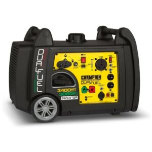 The Best Quiet Generator Option: Champion 3400-Watt Dual Fuel Inverter Generator