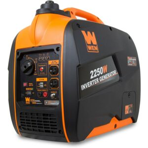The Best Quiet Generator Option: WEN 56225i 2250-Watt Gas Powered Portable Inverter