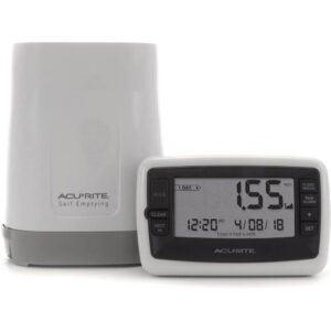 最佳雨量计选择:AcuRite 00899无线雨量计