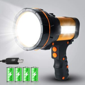 Best Rechargeable Flashlight GEPROSMA