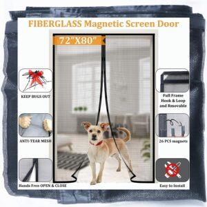 Best Retractable Screen Door Magnetic