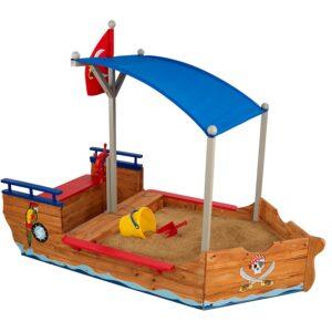 The Best Sandbox Option: KidKraft Pirate Sandboat
