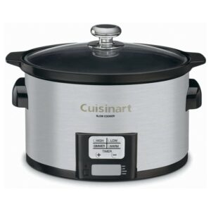 The Best Slow Cooker Option: Cuisinart PSC-350 3-1-2-Quart Slow Cooker