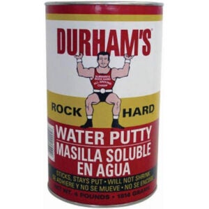 The Best Stainable Wood Option: FillerDonald Durhams 4-Pound Rockhard Water Putty