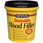 The Best Stainable Wood Option: FillerMinwax 42853000 Stainable Wood Filler, 16-Ounce