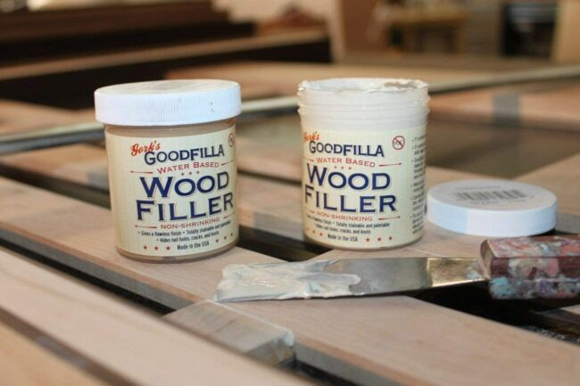 The Best Stainable Wood Filler