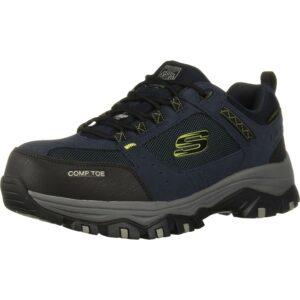 最佳钢头鞋选择:斯凯奇男士gretah建筑鞋