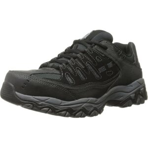 最佳钢趾鞋选择:Skechers for Work 77055 Cankton钢趾运动鞋