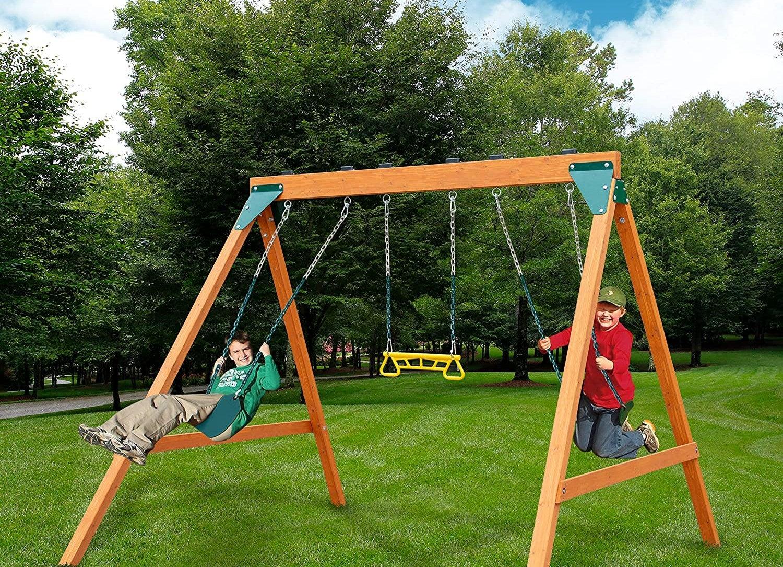 The Best Swing Sets For The Backyard In 2021 Bob Vila