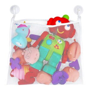The Best Toy Organizer Option: My Organized Abode Bath Toy Organizer