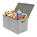 The Best Toy Organizer Option: Sorbus Toy Chest with Flip Top Lid