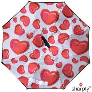 The Best Umbrella Option: Sharpty Inverted, Windproof, Reverse Umbrella