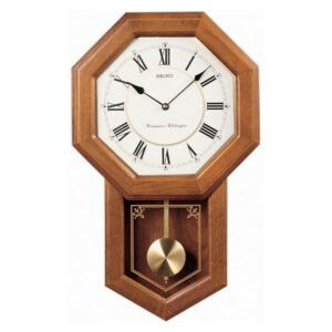 The Best Wall Clock Option: Seiko Light Oak Traditional Schoolhouse Wall Clock