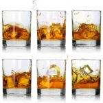 The Best Whiskey Glasses Option: LUXU Whiskey Glasses-Premium 11 OZ Glasses Set of 6