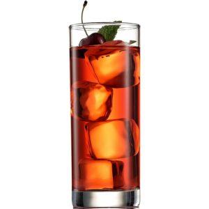 The Best Whiskey Glasses Option: Paksh Novelty Italian Highball Glasses (Set of 6)