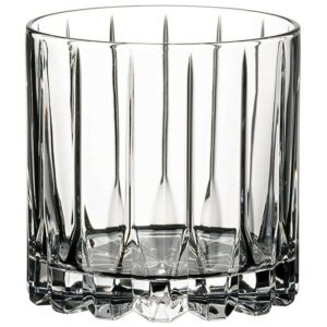 The Best Whiskey Glasses Option: Riedel Drink Specific Glassware Rocks Glass, 9 oz